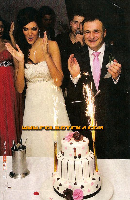 Nina Radulovic i Branislav Lecic svadba